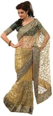 Lime Fashion Printed Fashion Net Sari