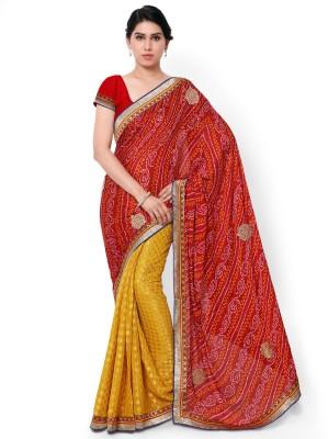 Anwesha Saree Embriodered Fashion Crepe Sari
