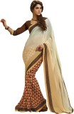 Parisha Printed Fashion Chiffon Saree (W...