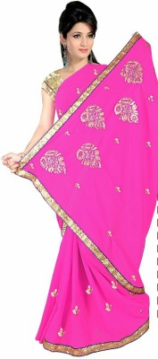 Shree Balaji Textile Embriodered Daily Wear Synthetic Sari