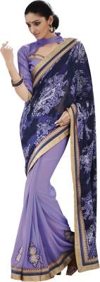 Melluha Embriodered Fashion Brasso Sari