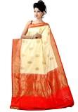 ASP Woven Banarasi Dupion Silk Saree (Be...