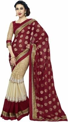 Apka Apna Fashion Embriodered Bollywood Lace Sari