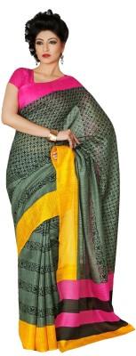 365 Labels Printed Arani Pattu Art Silk Sari