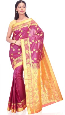 IndusDiva Paisley Fashion Art Silk Sari