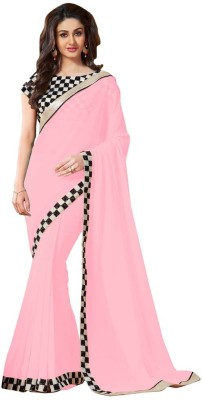 Stylezone Embriodered Fashion Chiffon Sari