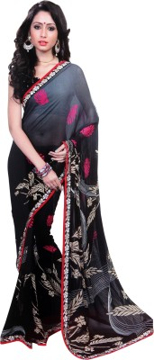 Radhelaxmitextiles Printed Fashion Synthetic Fabric Sari
