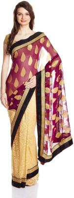 Satrang Printed Daily Wear Georgette Sari