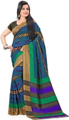 Sarovar Sarees Plain Bhagalpuri Art Silk Sari