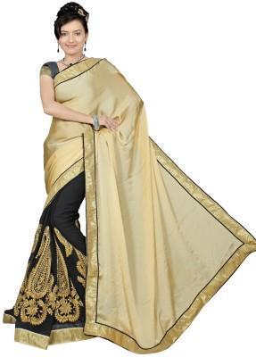 Karan Fashion Self Design Bollywood Georgette Sari