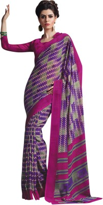 Vachi Chevron Daily Wear Georgette Sari