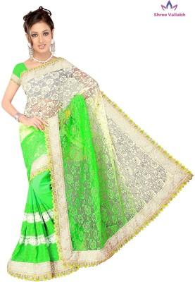 Shree Vallabh Embriodered Bollywood Net Sari