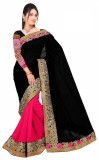 Ak Sales Embroidered Fashion Georgette S...