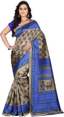 E-Vastram Printed Bollywood Art Silk Sari