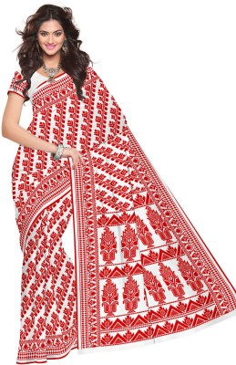 Sangam Kolkata Printed Fashion Cotton Sari