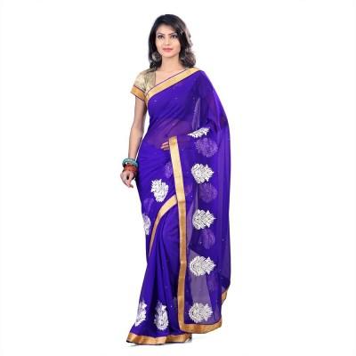 Om Sai Laxmi Creation Solid, Embriodered, Self Design Bollywood Velvet, Net Sari