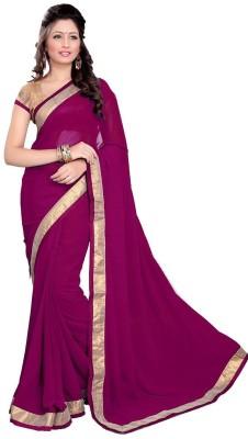 Sambandh Saree Self Design Fashion Georgette Sari