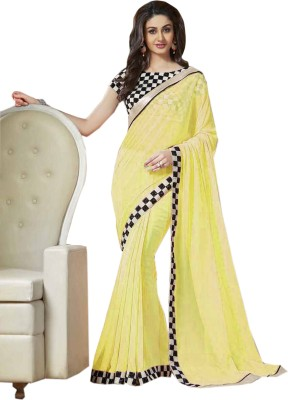 JKV Embriodered Fashion Georgette Sari
