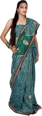 Shree Ji Solid Daily Wear Shimmer Fabric Sari