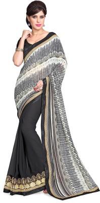 Sourbh Sarees Printed Fashion Georgette Sari