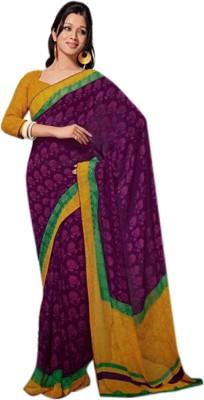 Fashion Studio Printed Daily Wear Georgette Sari