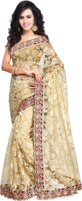 kothari creation Embriodered Daily Wear Net Sari