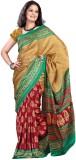 MySarees Printed Fashion Silk Saree (Mul...