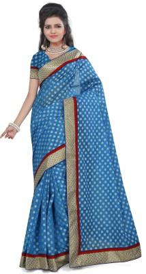 Gunjan Creation Woven Fashion Jacquard Sari