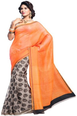 Mamta Sarees Printed Fashion Silk Sari