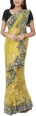 Estri Embriodered Fashion Handloom Net Sari