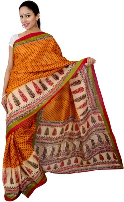Urban Style Printed Fashion Handloom Viscose Sari