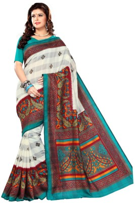 Fashiondodo Self Design Fashion Cotton Sari