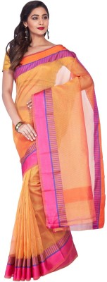 IndusDiva Self Design Fashion Cotton Sari