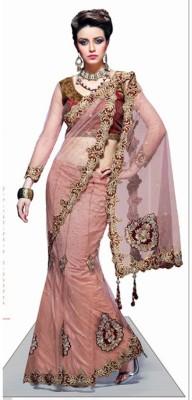 Kintu Designs Pvt. Ltd. Embriodered Lehenga Saree Brasso Sari