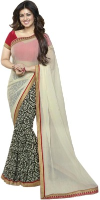 Wedding Villa Printed Bollywood Georgette Sari