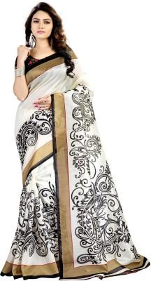 Gugaliya Self Design Bollywood Art Silk Saree(Multicolor)