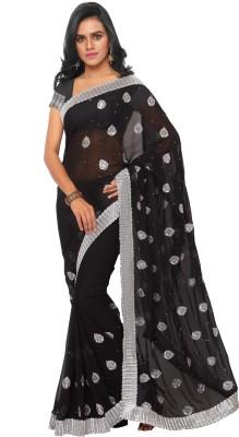 Aruna Sarees Embriodered Bollywood Georgette Sari