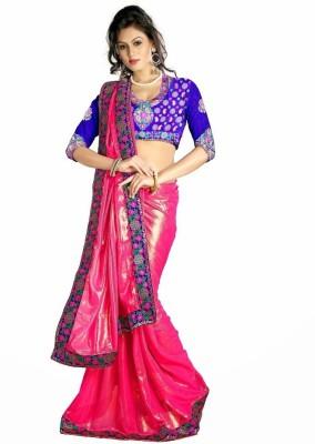 SareeStudio Plain Bollywood Georgette Sari