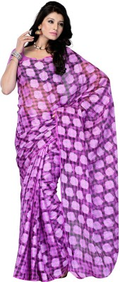 Ruda Printed Fashion Handloom Net Sari