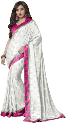 Fashion Forever Embriodered Fashion Silk Sari