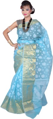 Banarasi Silk Works Embriodered Banarasi Art Silk Sari