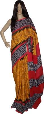 KheyaliBoutique Graphic Print Fashion Handloom Cotton Sari