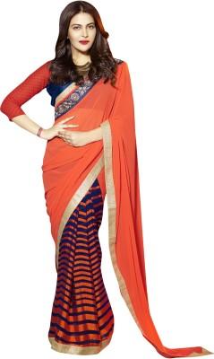 Hypnotex Embriodered Fashion Georgette Sari