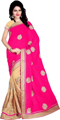 Kabira Embriodered Bollywood Georgette Sari