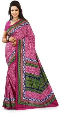 Design Villa Printed Mysore Art Silk Sari
