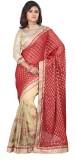 Red Apple Paisley Fashion Viscose Sari