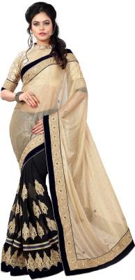 Trishulom Cloth's Online Embriodered Lehenga Saree Lycra, Georgette Sari