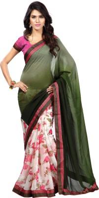 Muta Fashions Printed Fashion Synthetic Georgette Sari