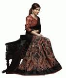 Glamour Tex Self Design Bollywood Chiffo...