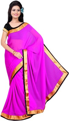 Being Feminine Printed Fashion Handloom Chanderi Sari